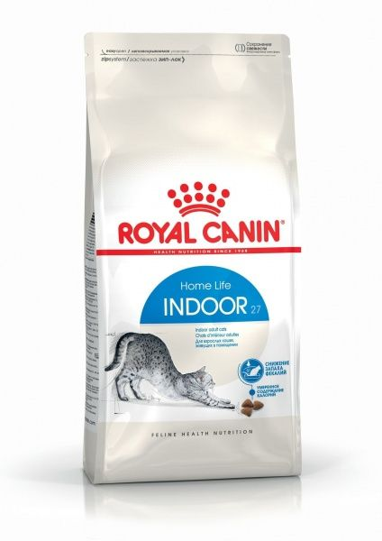 Royal Canin Indoor 27 (сухой корм) для кошек, живущих в помещении