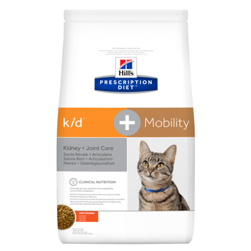 Hill's™ Prescription Diet™ k/d™ + Mobility для кошек с Курицей